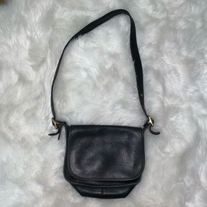 Vintage Leather Coach Purse